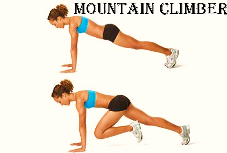 How to get rid of love handles mountain climber