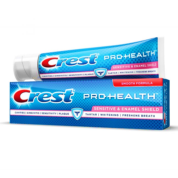 best toothpaste for sensitive teeth Crest Pro Health