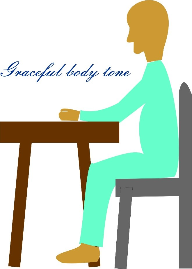 How to become more graceful sitting style