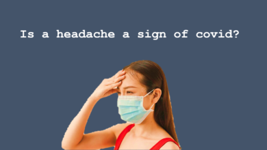 Is headache a sign of covid